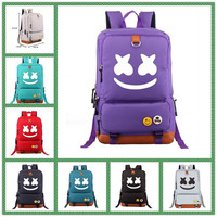 Hot high quality Fashion Backpack COOLOST3D printing Marshmello A Bags for School Backpack Women Men Children's school bags