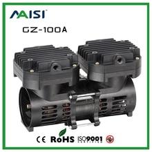 (GZ-100A) 110V /220V (AC) 70L/MIN 100 W oil free diaphragm vacuum pump цена 2017