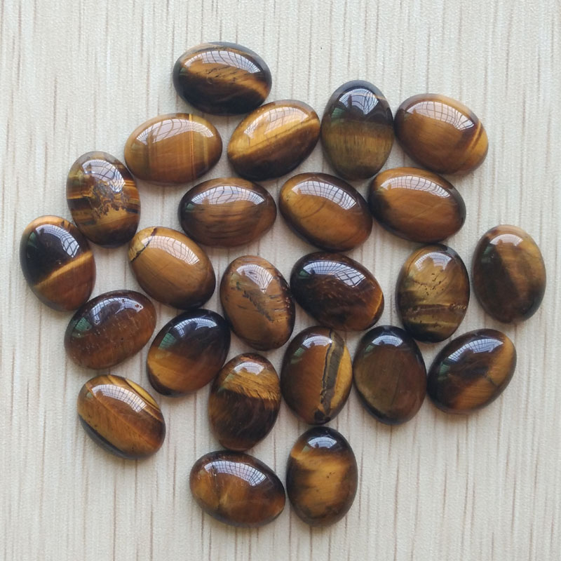 2016 Fashion bestselling good quality natural tiger eye stone Oval CAB CABOCHON jewelry beads 13x18mm wholesale 50pcs/lot free