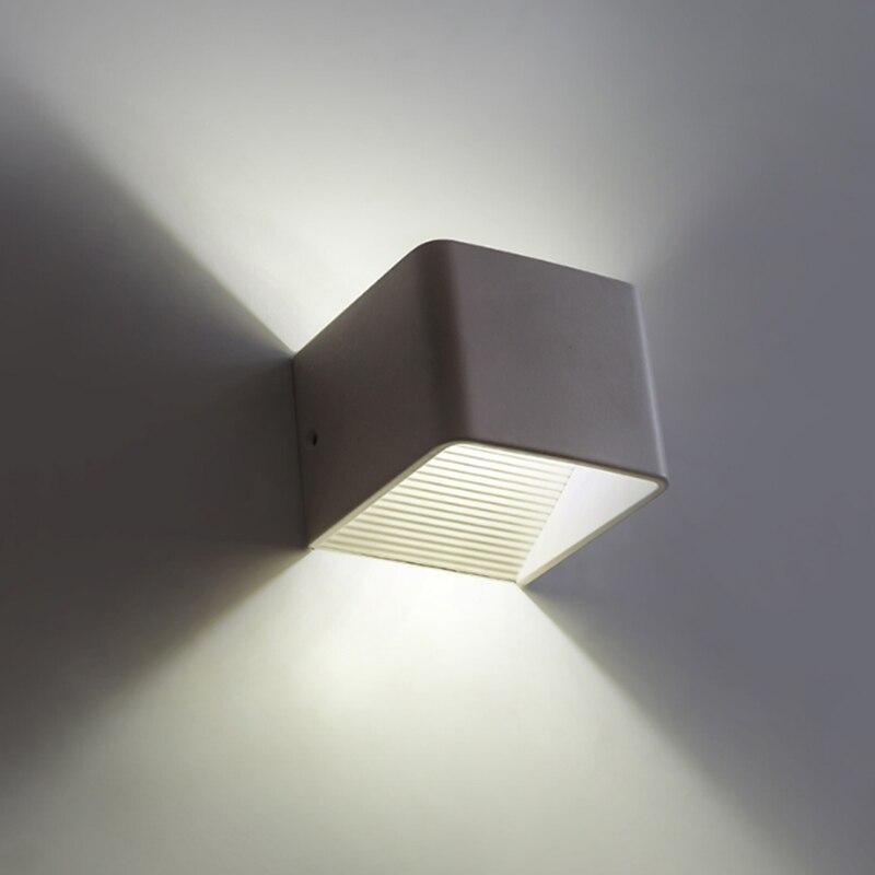 3 Вт 5 Вт Современные настенные бра светодиодный настенный светильник светильники AC85-265V теплый/холодный белый/RGB для лестницы коридор, стены,...