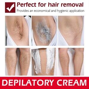 Image 4 - LEBENDIGE GLAMOUR Schnelle Haar Entfernung Creme Schmerzlos Enthaarung mild Entfernung Achselhöhle Beine Haar Körperpflege für männer und frauen 30g
