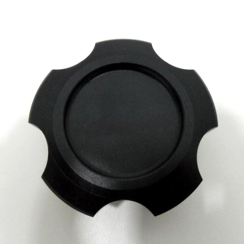НОВО Blcak Алуминиев капак на капачката - Авточасти - Снимка 3