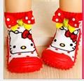 De los Bebés de Los Muchachos Calcetines Con Suela de Goma Para Recién Nacido TCL9026 Enfant Zapatos Calcetines con Suela De Goma