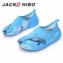 JACKSHIBO Summer Kids Sandals Breathable Child Indoor Socks Barefoot Slippers Aqua Shoes for Children Non-slip Water