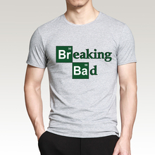 Hot Sale Breaking Bad Heisenberg Men T Shirts