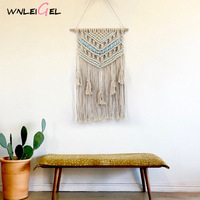 WLG hanging wall decoration Nordic tassel room decor handmade room decoration plant fiber