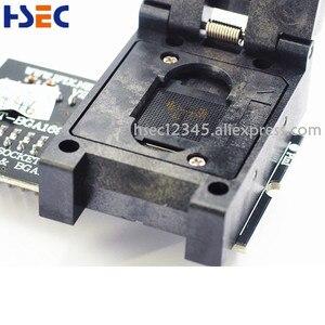 Image 3 - RT809H nand flash programista isp BGA153 BGA169 emmc adapter z 3 sztuk BGA prostokąt ograniczający RT BGA169 01 adapter bga rt809h gniazdo