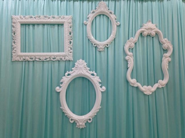Wedding Backdrops Photobooth Props Plastic Frame Wedding