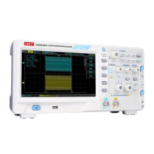 UNI-T UPO2072CS Ultra Phosphor Oscilloscope 70MHz 2Channels 1GS/s hantek dso5102p digital oscilloscope portable 100mhz 2channels 1gsa s record length 40k usb lcd handheld osciloscopio 7 inch