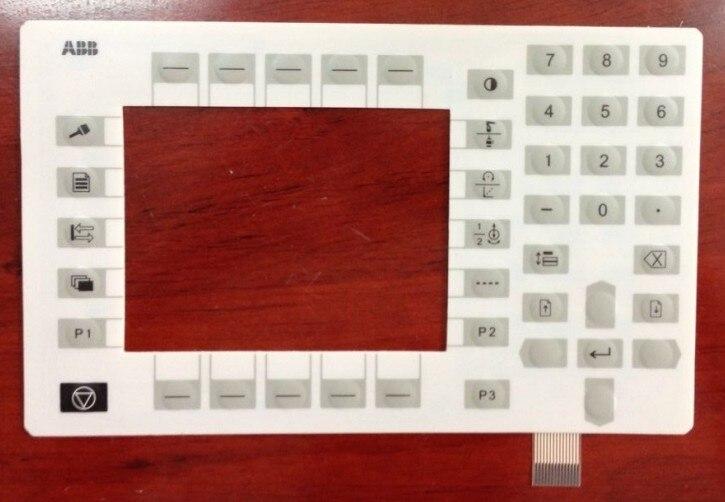 Clavier à membrane Panneau de Commande Bouton Masque Pour 3HNE00313-1 Robot Carte Mère Enseignement Iimplement