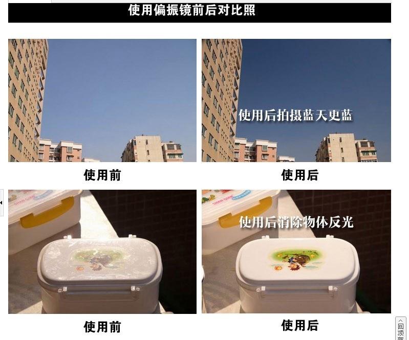 DSLR Camera Lens Filter CPL Polarizer Filter 37mm 40.5mm 43mm 46mm 49mm 52mm 55mm 58mm 62mm 67mm 72mm 77mm 82mm