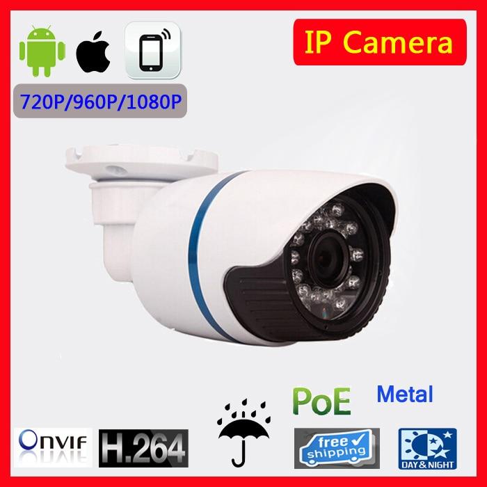 POE Camera 1920*1080P 2.0MP IR IP Camera POE Hi3516C ONVIF Waterproof Out/indoor Night Vision P2P CCTV security 1280 960p 1 3mp ip camera poe 3 6mmlen 30m ir distance bullet onvif waterproof out indoor ir night vision p2p cctv camera system