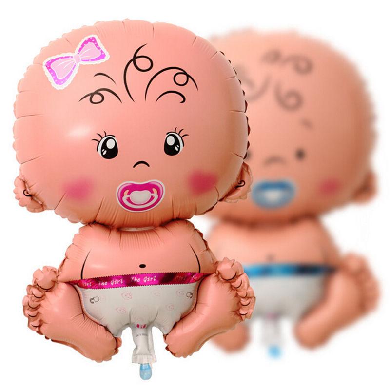 Classic Toy Balls Balls 1Pcs Pink Girl Baby Shower  Helium Bath Foil Helium Balloons