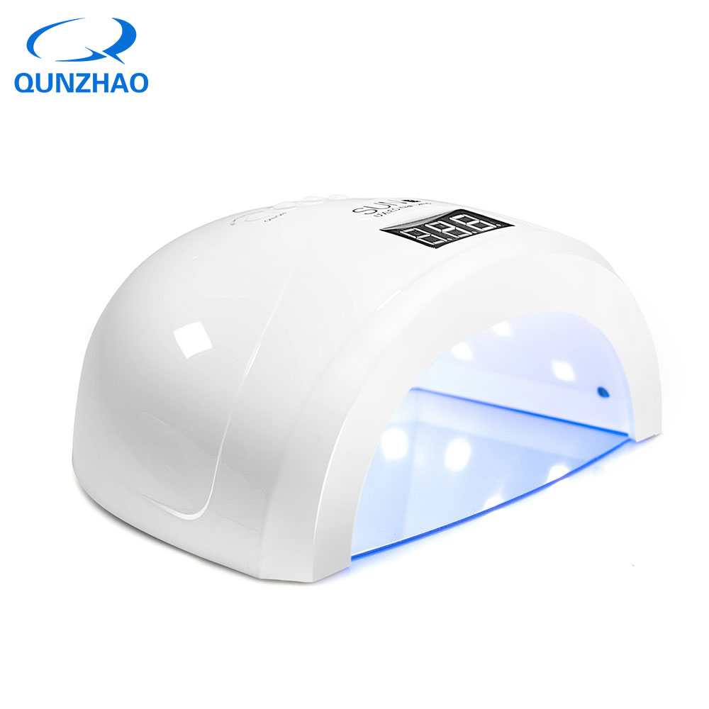 SUN1S UV LED Lamp Nail Dryer for Curing All uv Gel Nail Polish 48W/24W Auto Sensing Nail Polish Lamp Machine Professional