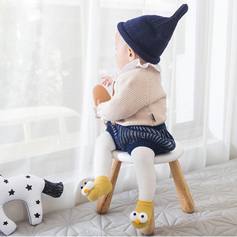 Baby Cartoon Anti-slip Floor Socks Big Eyes Cute Toddler Infant Non-slip Socks