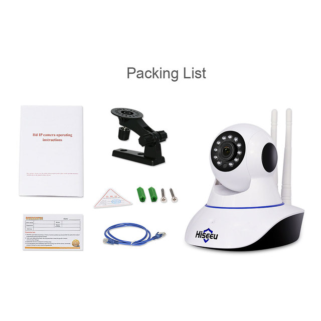 Hiseeu 1080P IP Camera Wireless Home Security IP Camera Night Vision CCTV Camera Surveillance Camera Wifi Baby Monitor Wholesale