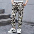 teenage little boys pants casual 2017 black red brown camouflage sports kids pants boys trousers spring autumn children clothing