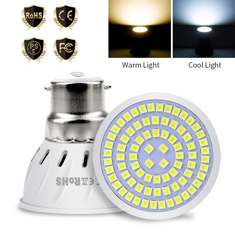 MR16 Spotlight Bulb GU10 LED 220V Corn Light E27 Lampada Led E14 Ampoule 48 60 80leds Led Lamp GU5 3 Focos Bulb Indoor Lighting in LED Bulbs Tubes from Lights Lighting