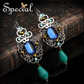 Special New Fashion Dangle Earrings CZ Diamond Vintage Earrings Rhinestones Jewelry Gifts for Women 2017 EH160306