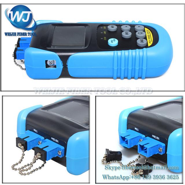 Computadora de mano medidor de potencia óptica PON medidor de potencia óptica OPM607P precio