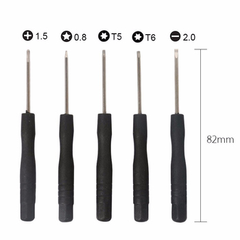 New 11 in 1 Opening Tools Disassemble Kit for iPhone 4 4s 5 5s 6 6s Smart Mobile Phone Repair Tools Kit Screwdriver Set 3