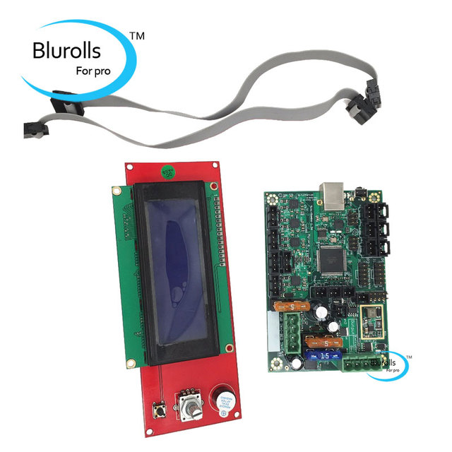 Reprap Prusa i3 ramps 1.4 2004 LCD and Mini Rambo 1.3a mainboard for on