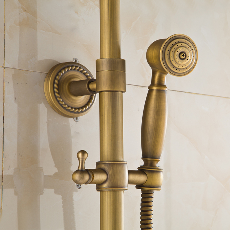Xuan Sha copper sheathed shower combination antique antique shower ...