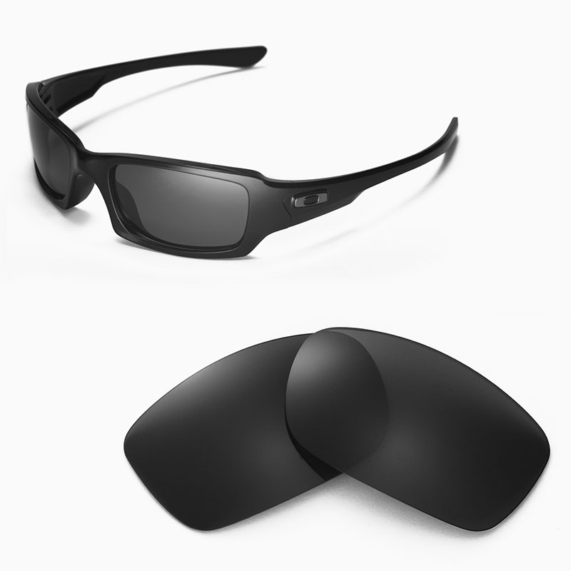 67934296ec Walleva Polarized Replacement Lenses for Oakley Fives Squared ...
