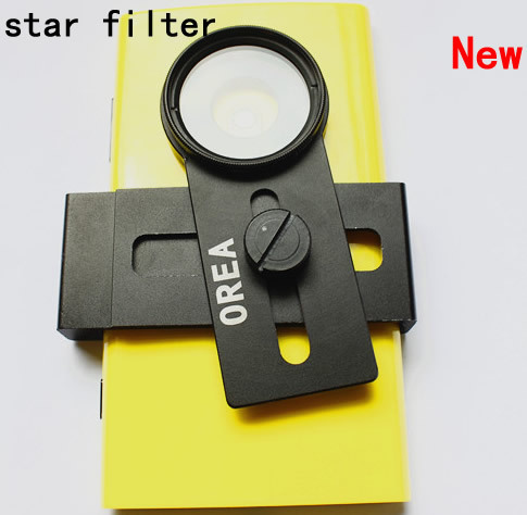 High quality  OREA universal Clip mobile Phone star filter  Camera Lens for iphone samsung camera,5pcs/lot
