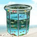 Прозрачный Большой Детский Бассейн Надувные Водные Игры Бассейн Ребенок Детский Игровой Бассейн Детская Ванночка Регулируемая Высота C01