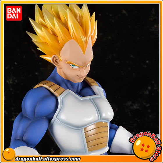 Japan Anime Dragon Ball Z Original BANDAI Tamashii Nations Figuarts ZERO EX Exclusive Collection Figure - Super Saiyan Vegeta genuine bandai exclusive tamashii nation 10th anniversary s h figuarts dragon ball z son gokou goku kaiohken ver action figure