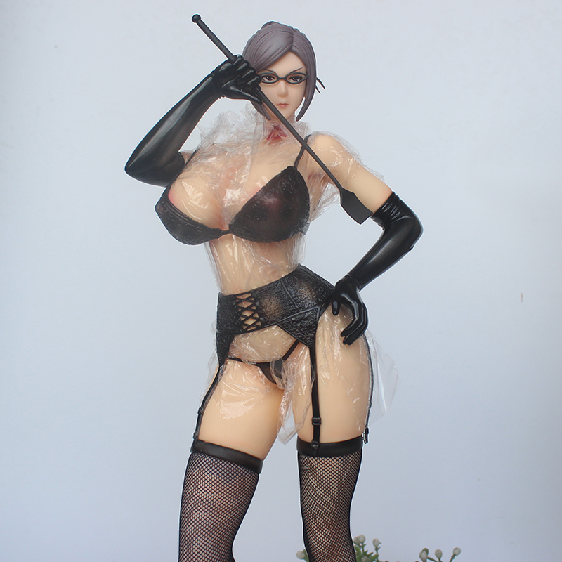 <font><b>1/4</b></font> Anime <font><b>Sexy</b></font> Grils Figurine Prison School Shiraki Meiko PVC Collection Model Figure 41cm image