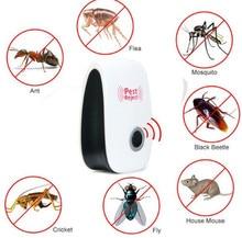 חדש חשמלי הדברה קולי פשט Repeller יתושים רוצח אלקטרוני אנטי מכרסמים דוחה חרקים עכבר מקק Ect