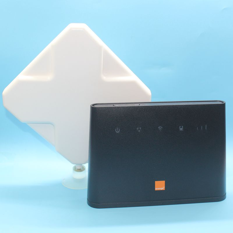 Unlocked Huawei B310 B310s 22 with Antenna 150Mbps 4G LTE CPE WIFI ROUTER Modem with Sim Card Slot Up to 32 Devices