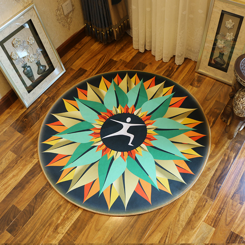 rugs and carpets for home living roomround doormat children cartoon room non slip carpetbath rug kitchen water adsorption mat