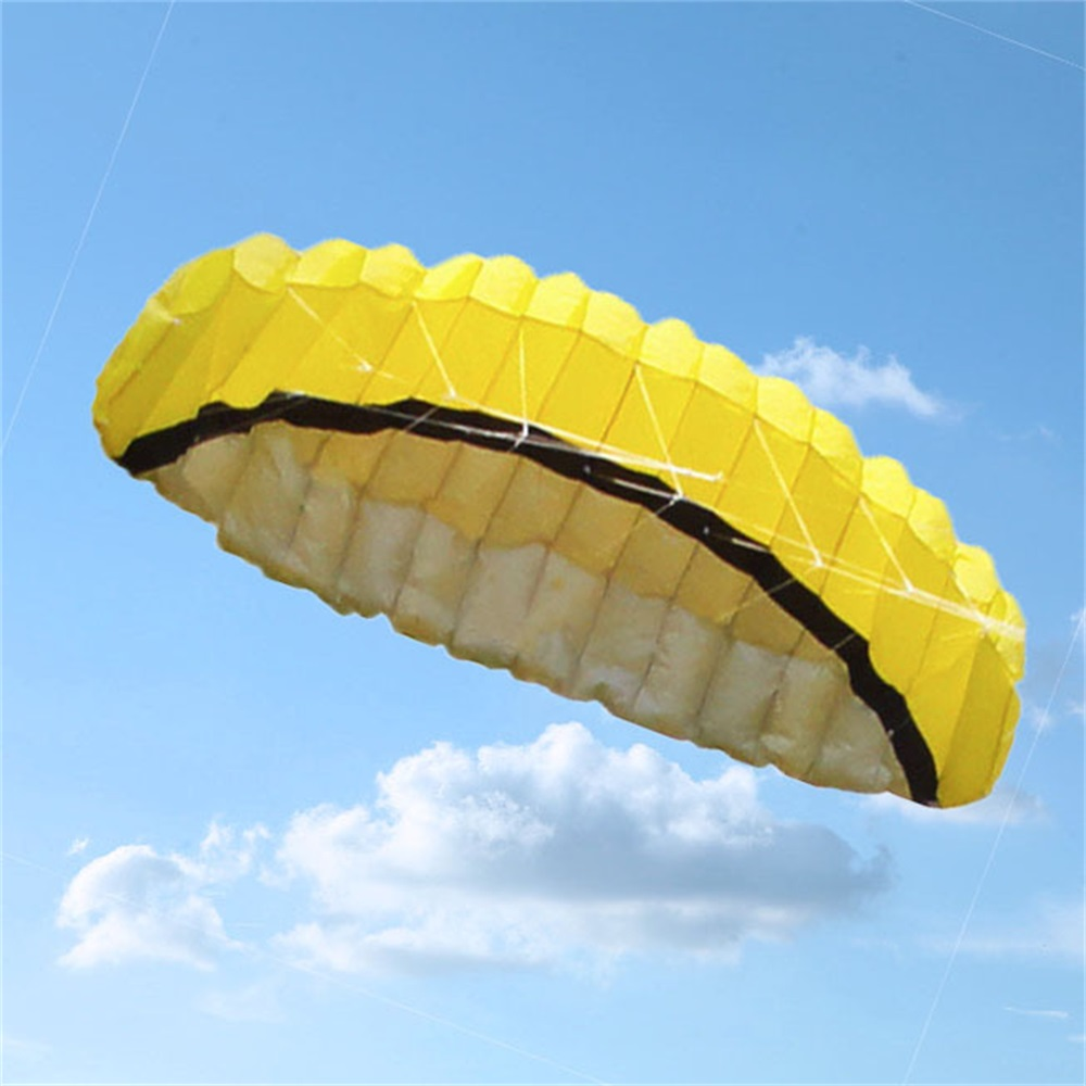 Facile grand 250*80 CM coloré cerf-volant en Nylon en plein air cerfs-volants jouets volants pour enfants enfants cerf-volant Surf avec barre de contrôle et ligne TH0047 - 4