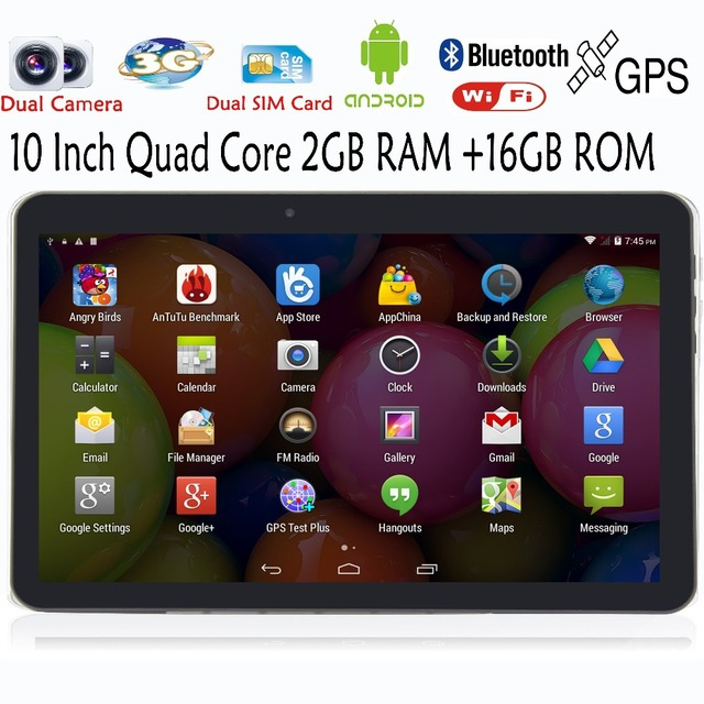 10 Дюймов Оригинальный Классический 3 Г телефон таблетки пк Android GPS 2 Г 3 Г Телефон позвоните 2 Г 16 Г поддержка Оригинальный Чехол планшетный пк 7 8 9 tab пк
