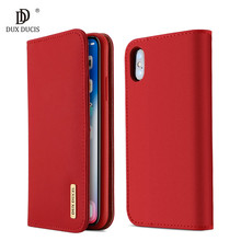 100% Echt Luxe Flip PU Lederen Siliconen Case voor iPhone Xs Case Beschermende Telefoon Tassen Cover Voor iPhone X Portemonnee case Coque