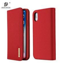 100% натуральный роскошный флип чехол из искусственной кожи и силикона для iPhone Xs, защитный чехол для телефона, чехол для iPhone X, чехол бумажник, оболочка