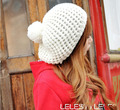Шапки для зимы женщин чистой цвет акриловой трикотажные женщина шляпа дешевые шапки головные уборы аксессуары бесплатная доставка Skullies и шапочки