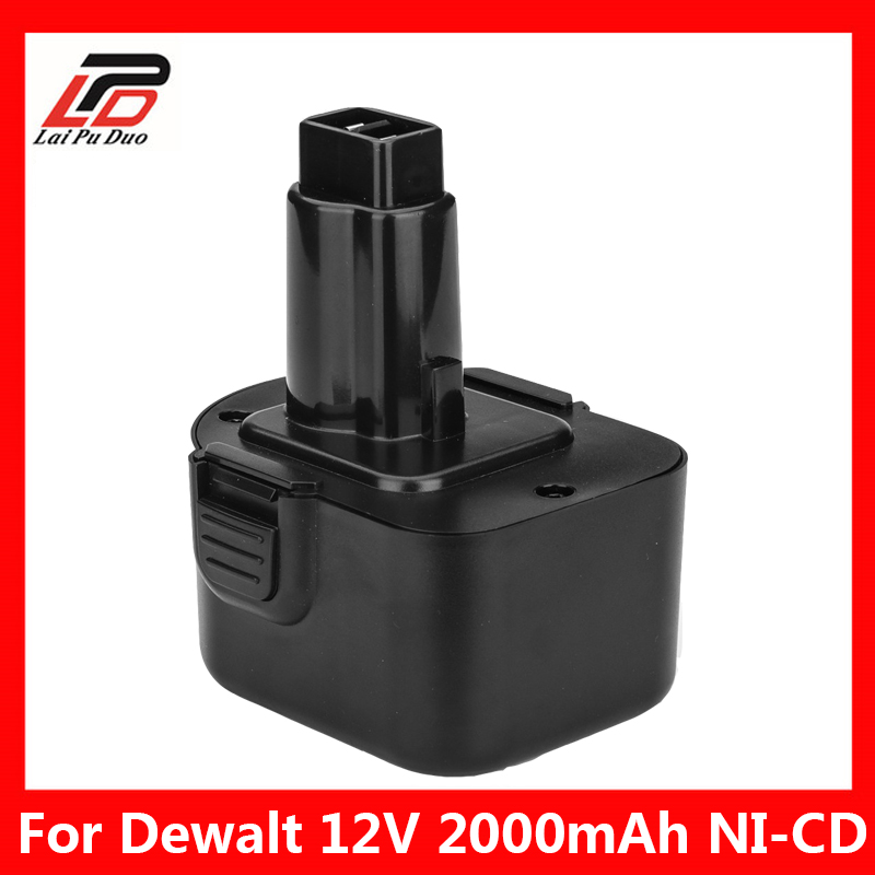 Ni-CD 2.0Ah Replacement Power Tool Battery For Dewalt 12V 2000mah DE9074 DC9071 DE9037 DE9071 DE9074 DE9075 DW9071 DW9072 DW9074 ni cd 2 0ah replacement power tool battery for dewalt 12v 2000mah de9074 dc9071 de9037 de9071 de9074 de9075 dw9071 dw9072 dw9074