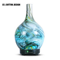 New 3D Aroma Essential Oil Diffuser Ultrasonic Air Humidifier With Led Night Light Aromatherapy Diffusers Humidifiers