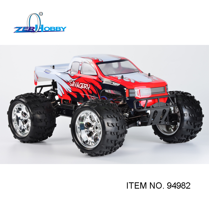 BEST DESIGN NEW ARRIVAL HSP 1/8 SCALE ELECTRIC POWER BRUSHLESS MOTOR 4X4 OFF ROAD MONSTER TRUCK 94982 TWO BATTERIES HIGH POWER hsp rally racing monster truck 94063 1 8 electric powered brushless 4x4 off road rtr rc car 3300kv motor