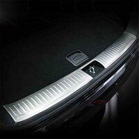 ВНУТРЕННИЙ Задний бампер из нержавеющей стали, защитная Накладка на порог, багажник, защитная подложка под край для Kia Sorento 2016
