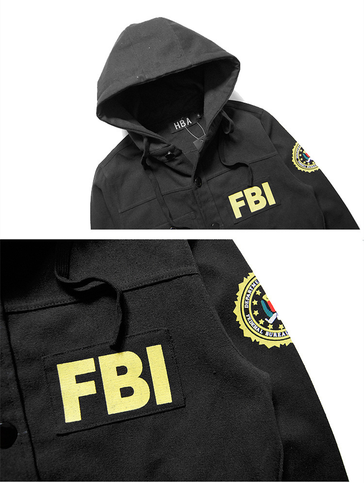 c403ba045 2015 FBI Jacket Bomber Pilot HBA Hood By Air Windbreaker Abrigos y ...
