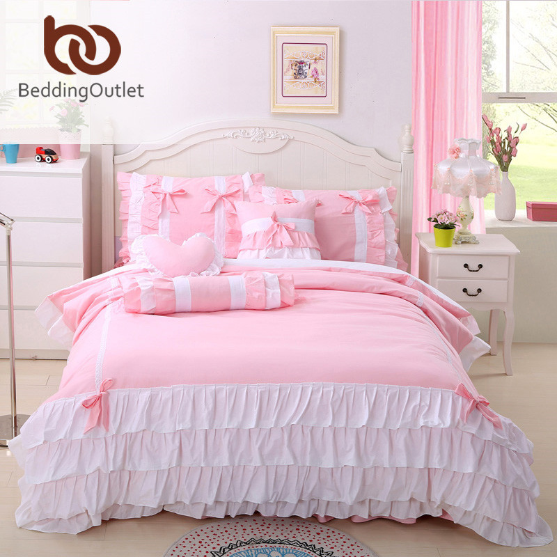 Beddingoutlet Bedding Lace Duvet Cover Set Sweet Design