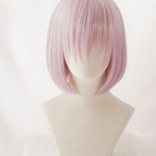 FGO Fate Grand Order Cosplay Wig Shielder Matthew Kyrielite Short Synthetic Hair