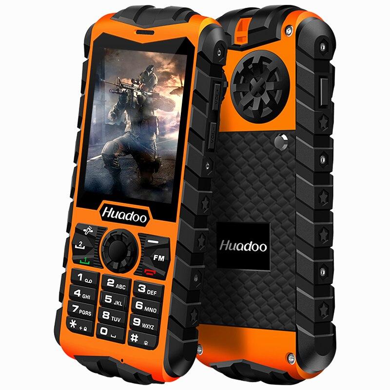 2071 New Original HUADOO H3 Waterproof phone Senior old man IP68 military Oudoor ultra Rugged shockproof
