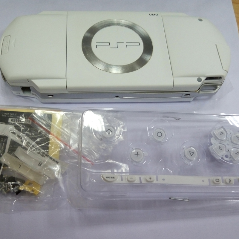 7 Colors For PSP1000 PSP 1000 Shell All Version Game Console replacement full housing cover case with buttons