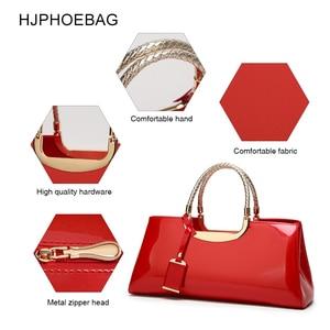Image 3 - HJPHOEBAGแฟชั่นกระเป๋าจัดเลี้ยงพลาสติกสิทธิบัตรหนังกระเป๋าถือไหล่ผู้หญิงของขวัญงานแต่งงานBolsas Mujer YC186